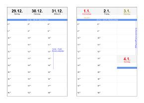 Heyer s kalender studio wochenplaner
