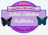 Labels Sticker Aufkleber