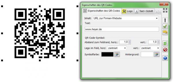 Heyer S Visitenkarten Qr Code Heyer S Druck Und